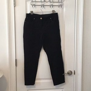 5 Pocket Style Black Ponte Pants by Chico's